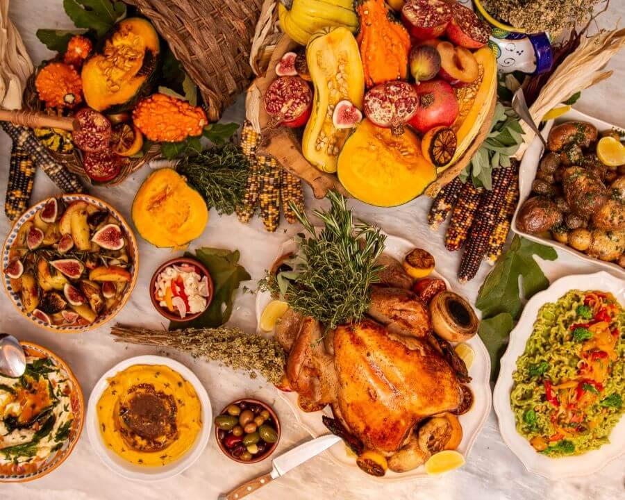 thanksgiving dinner buffet tipes